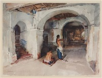 the unseen target by william russell flint