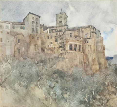 subiaco by william russell flint