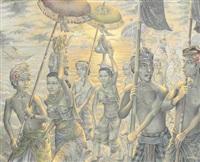 upacara de tepi pantai by wayan ariasa