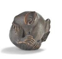 zu einer kugel gerollte ratte (by masanao) by japanese school (19)