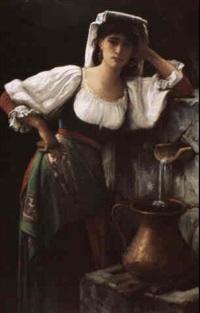 jeune fille au puits by pierre cabanel