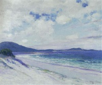 breezy day, carmel by guy rose
