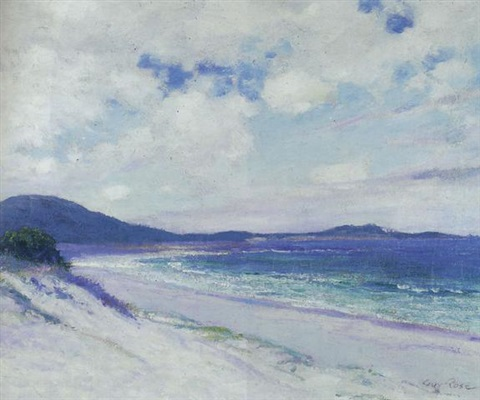 breezy day carmel by guy rose
