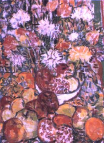 composition fruits et fleurs by rady rautovich yakubov