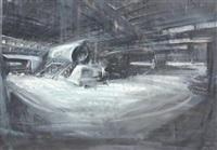 interno di fabbrica by alessandro papetti