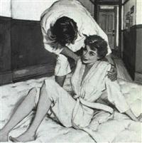 jiu-jitsu couple by joseph de mers