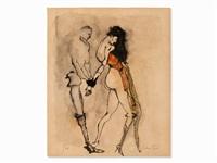 erotic couple by leonor fini