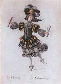 the dancer beauchamp as la chirurgie by henri de gissey