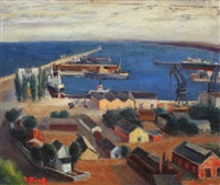 the port of constanța by aurel iacobescu