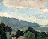 le lac du bourget by bessie ellen davidson