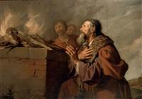 abraham's sacrifice by jacob adriaensz de backer