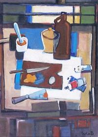mesa de artista by carlos uriarte