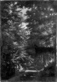 pond road, wayland by alfred t. ordway