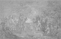 mythological scene by ludovico gimignani