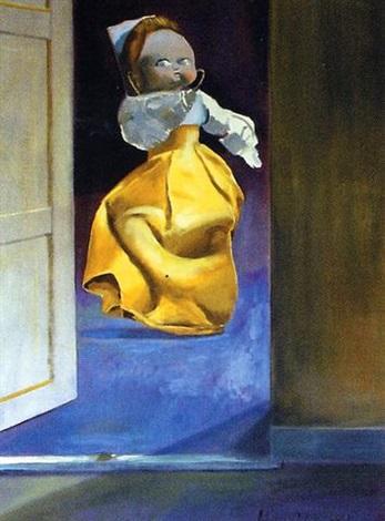 muñeca en amarillo by clarel neme