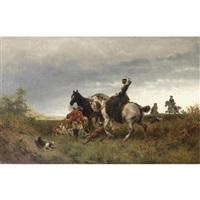 caccia al cervo by friedrich wilhelm pfeiffer