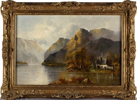 loch scenes pair by w richards