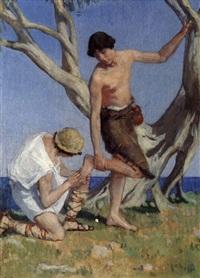 les pasteurs by francois maurice roganeau