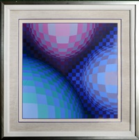 triond by victor vasarely