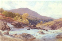 on the river spean, tulloch, scotland by s. g. william roscoe