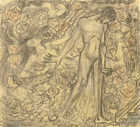 kundry and parsifal by jan toorop