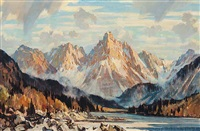 mount cathedral by alfred crocker leighton