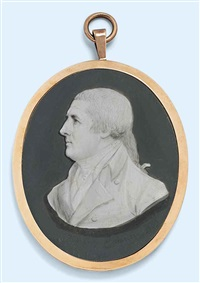 thomas graham (1752-1819), almost in profile to the left, in coat and cravat by samuel andrews