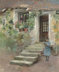 the farmer's daughter by theodore robinson