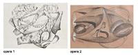 composizione (+ composizione; 2 works) by cesare andreoni