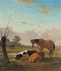 farm friends by joseph jodocus moerenhout