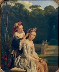 la couronne de fleurs by jean alphonse roehn