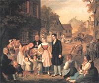 dorothea's farewell by heinrich maria von hess