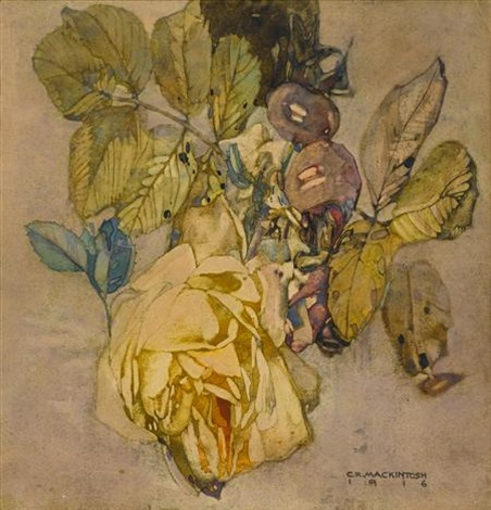 winter rose by charles rennie mackintosh