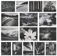 portfolio four: what majestic word, in memory of russel varian (portfolio of 15) by ansel adams