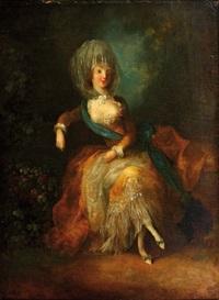 jeune femme assise by josé camaron y boronat