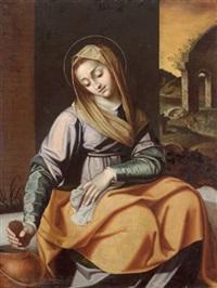 die heilige praxedis, la santa prassede by scipione pulzone