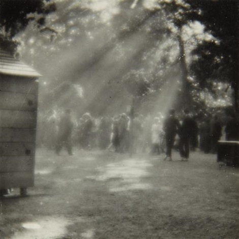street scene prague by josef sudek