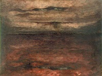 plum darkness by jehangir sabavala