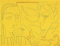 deux femmes by françoise gilot