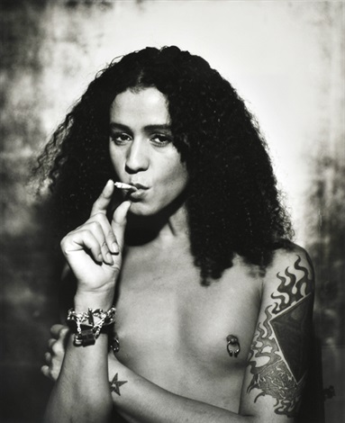 jaye davidson for interview magazine by sante dorazio