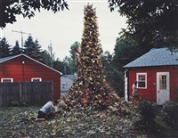 untitled, flower totem, 2002 by gregory crewdson
