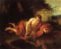narcisse by françois (le moine) le moyne