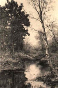 the pool beneath the pines by walter boodle