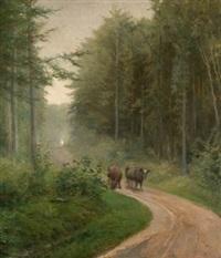 paisaje con ganado by manuel abelenda
