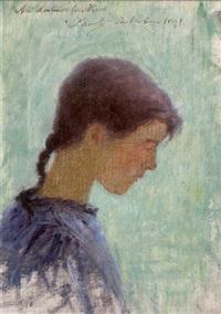 bretonne de profil by per ewert