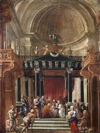circuncisión de jesús en el templo by francisco gutiérrez