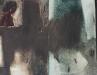 untitled (diptych) by yusuf arakkal