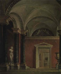 l'intérieur du palais by ivan vasil'ev