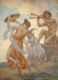 le faune et la danseuse by victor koos