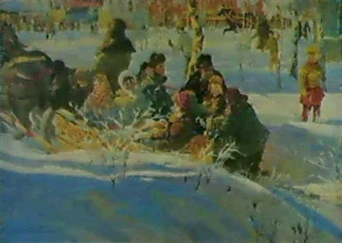 le traineau des enfants by viktor bolchakov